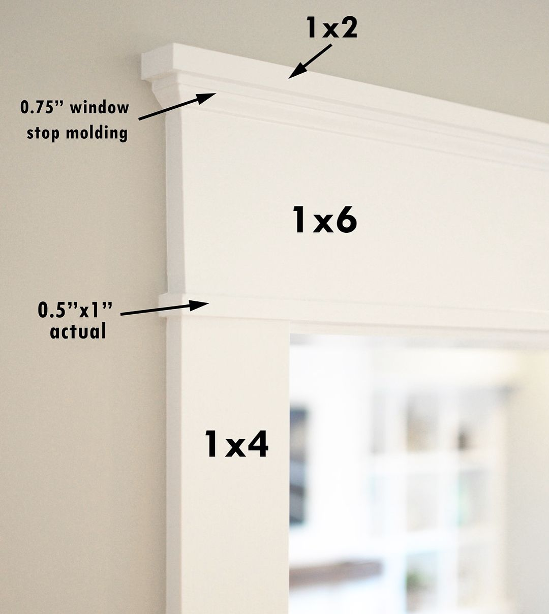 There Has Been Some Interest In The New Craftsman Style Trim We Are Installing Throughout Our Hou Interior Window Trim Interior Door Trim Craftsman Window Trim