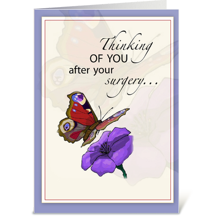 butterfly get well after surgery get well wishes pinterest