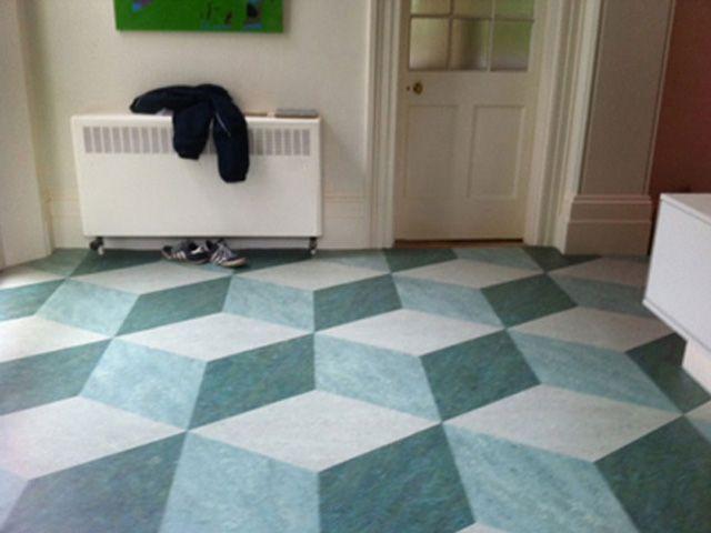 Linoleum 3d Effect Linoleum Flooring Flooring Tile Floor
