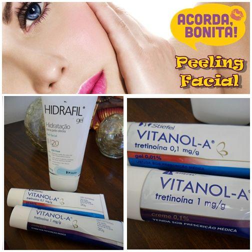 Peeling Facial A Base De Vitamina A Acido Retinoico Pomada