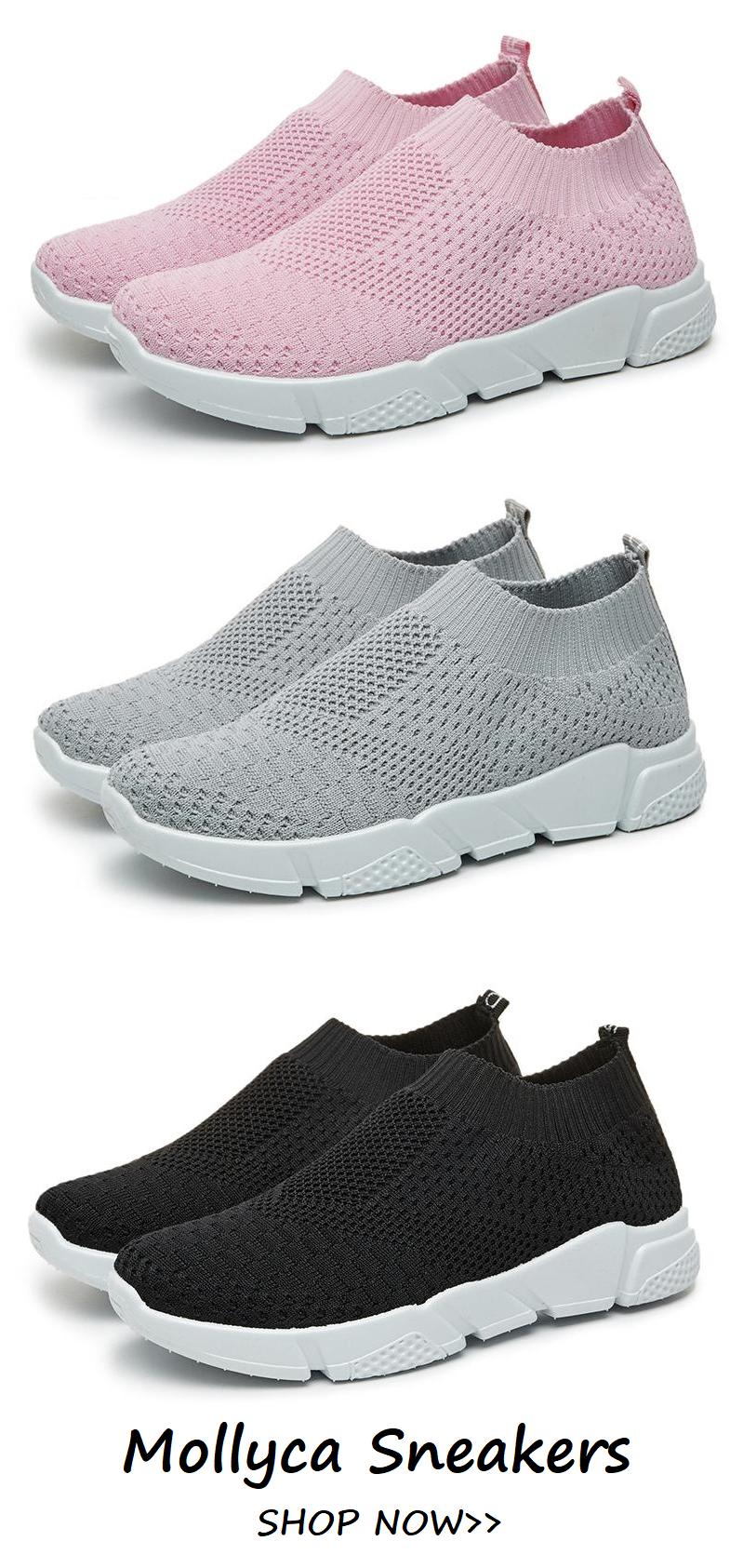 White All Season Elastic Cloth Sneaker Shoes in 2018  5745e8f55