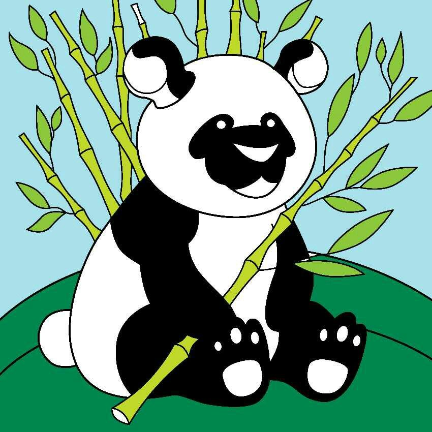 Pin by Carly on Panda party Colorful art, Art, Drawings
