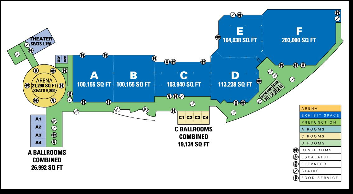 Another floorplan for the Dallas Convention Center ... on map of las vegas convention center, map of providence convention center, map of hawaii convention center, map of lakeland center, map of visalia convention center, map of tacoma convention center, map of boston convention & exhibition center, map of los angeles convention center, map of fort worth convention center, map of cox convention center, map of centurylink center omaha, map of broward county convention center, map of monterey convention center, map of tucson convention center, map of valley view casino center, map of mccormick place convention center, map of donald e. stephens convention center, map of ontario convention center, map of kentucky convention center, map of cleveland convention center,