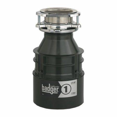 Insinkerator Badger 1 Sink Garbage Disposer