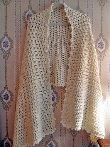 Prayer Shawl / Healing Shawl #13779 (Crochet) pattern by Janet Severi Bristow, Victoria A. Cole-Galo #prayershawls