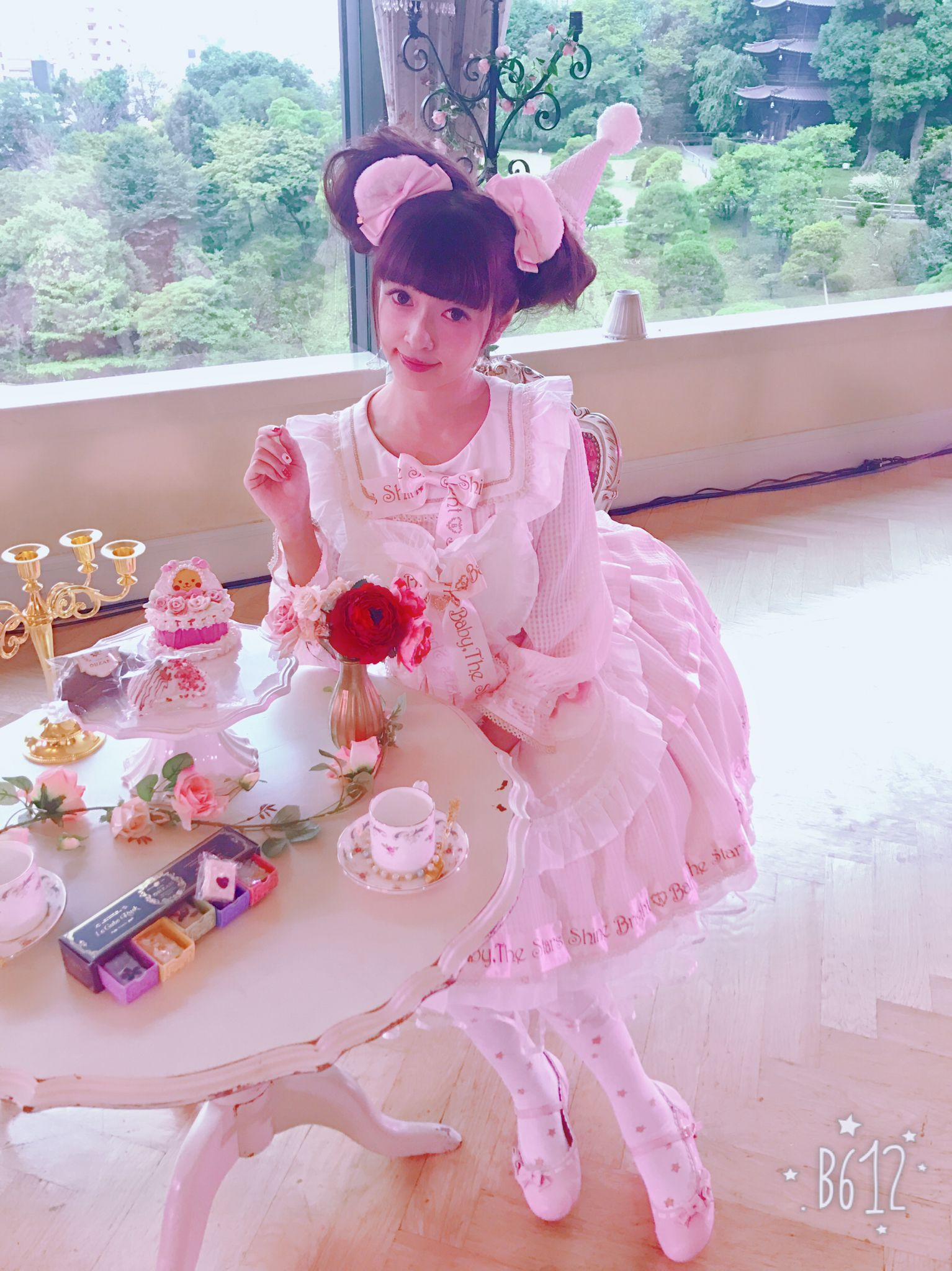 Misako Aoki @ Baby Stars Shine Bright Tea Party | lolita style ...