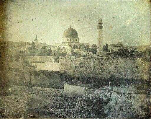 1844م المسجد الاقصى القبلة الاولى