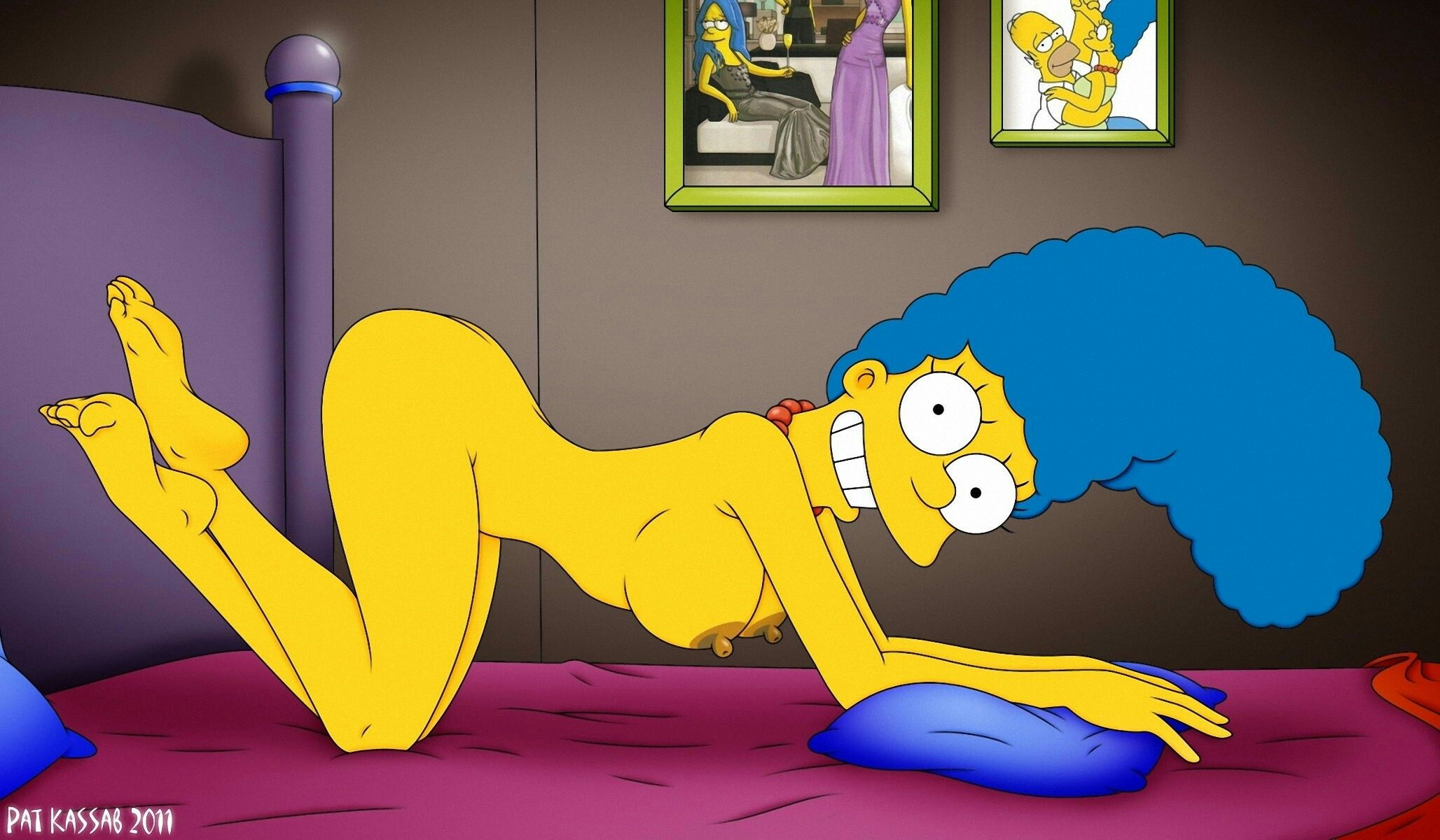 simpson nude The Simpson Marge Simpson Erotic Anatomical