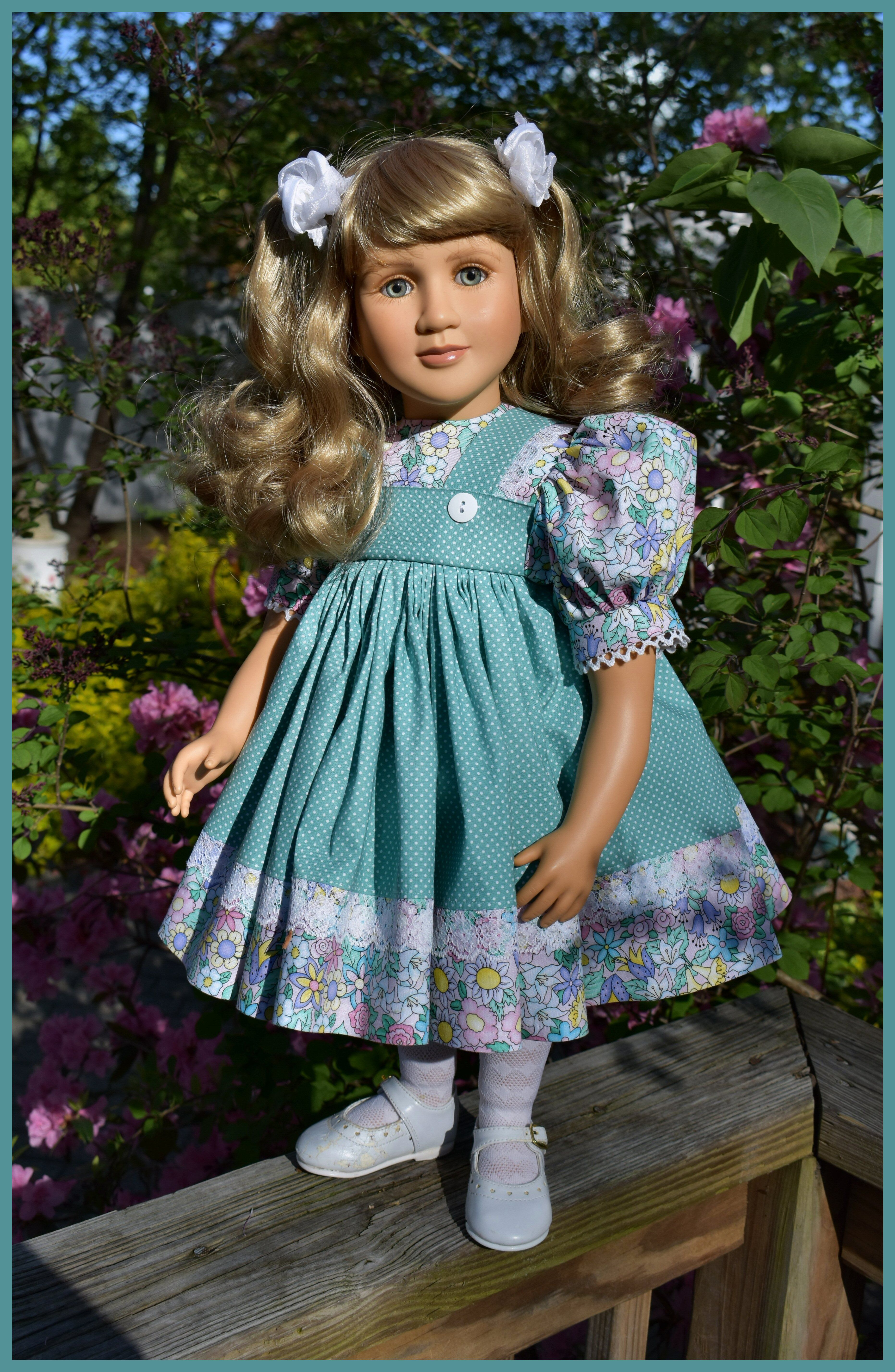Dress by sewbeitsdollwear on etsy with images dresses