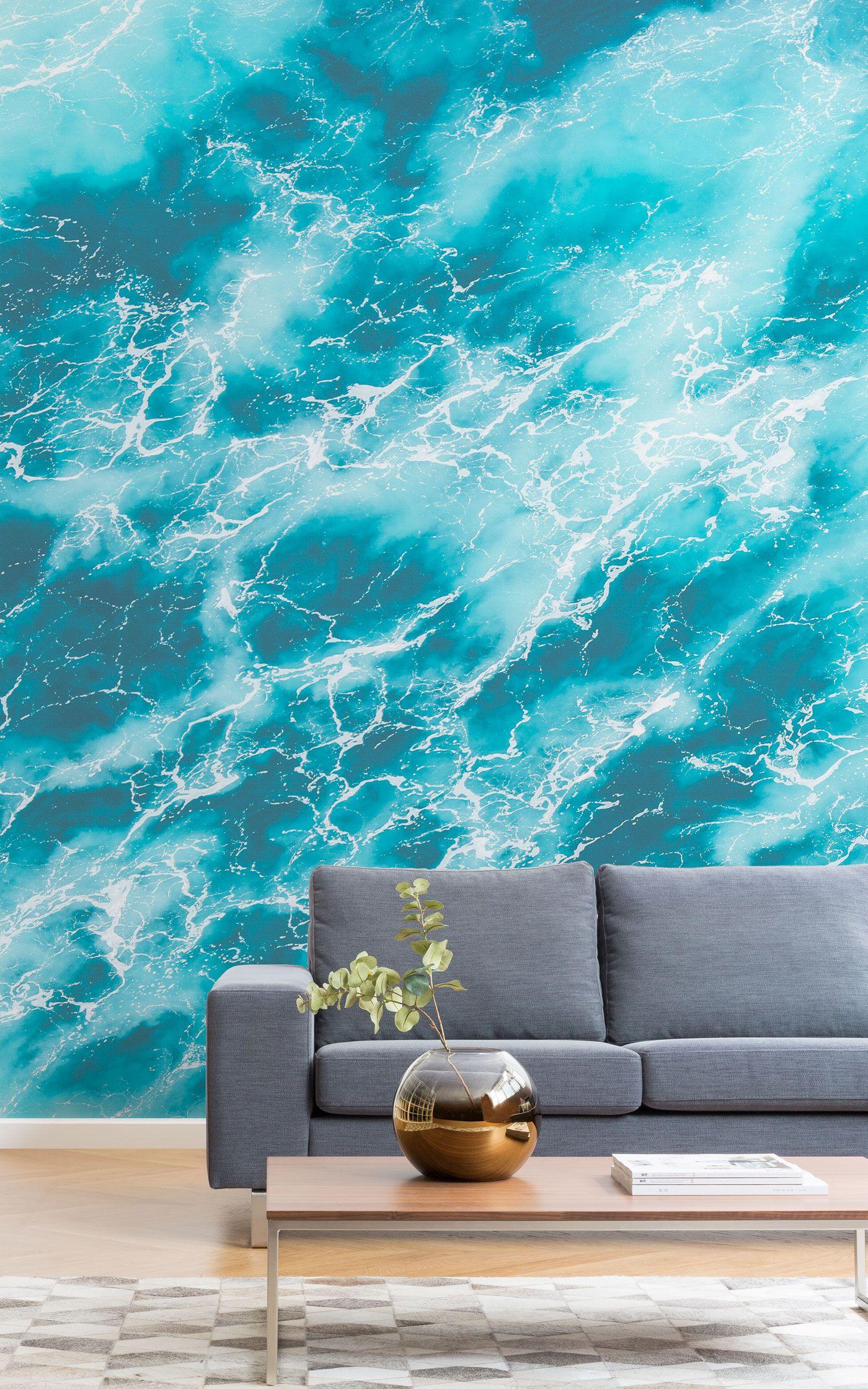 Caspian Photographic Ocean Wallpaper Mural Murals Wallp