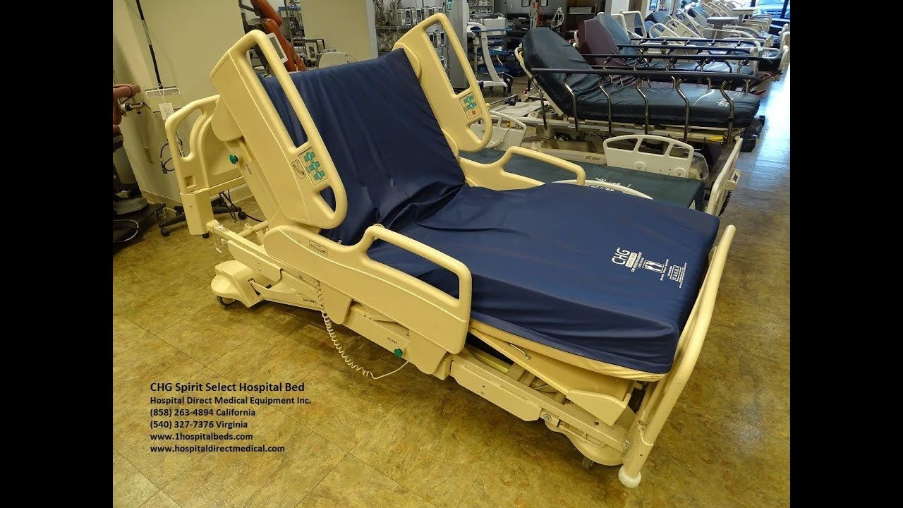 CHG Spirit Select Bed Hospital bed, How to make bed