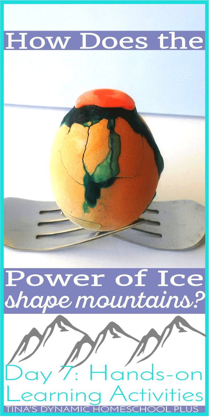 How Does the Power of Ice Shape Mountains? Day 7: Hands-on