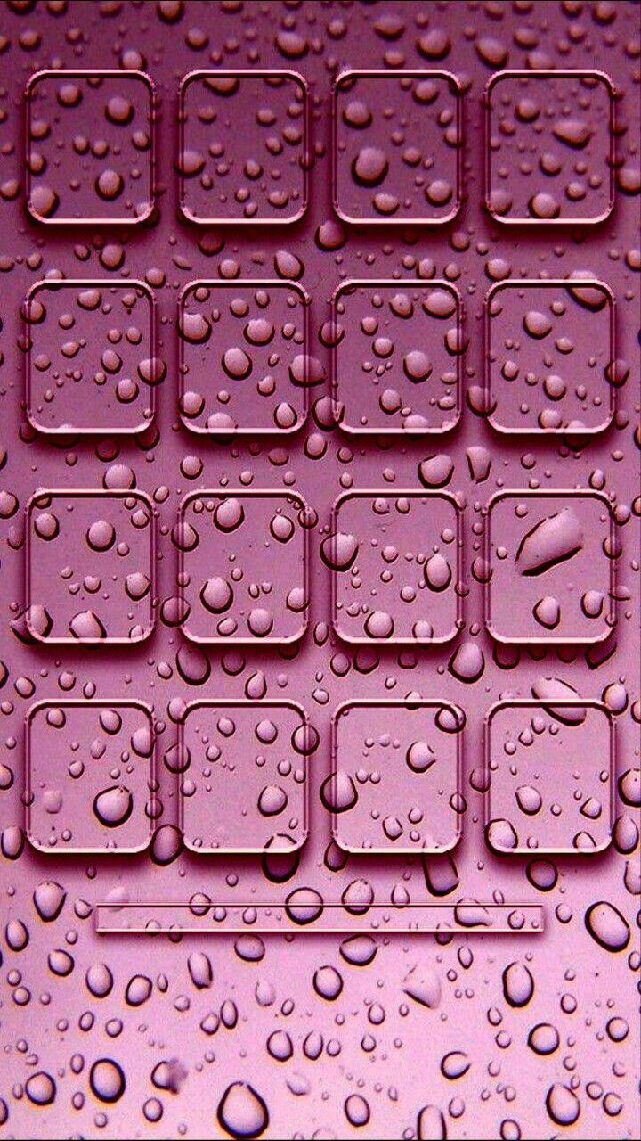Raindrop Pink Shelf Wallpaper Valentines Wallpaper Wallpaper Shelves Iphone Wallpaper