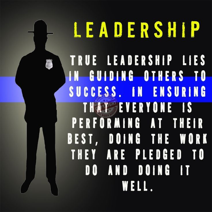 Leadership True leadership lies in guiding others to success In - probation officer job description
