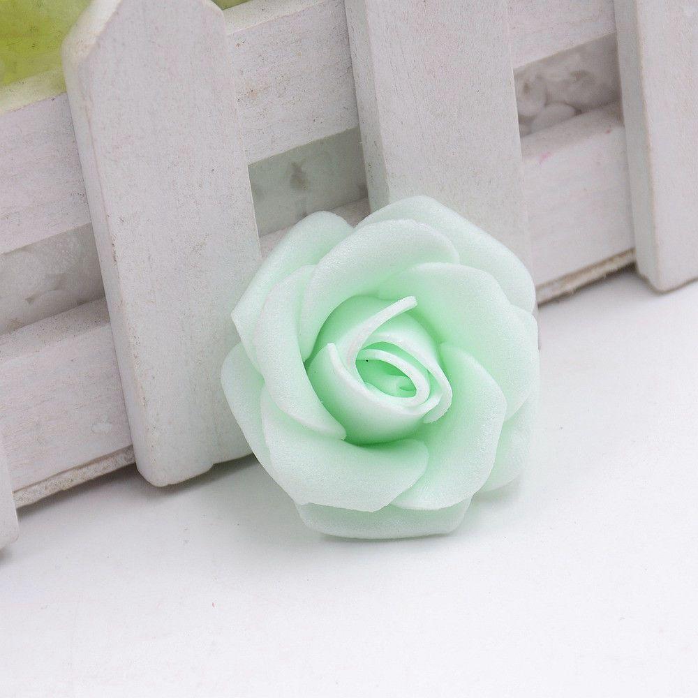 Wedding car flower decoration images  pcs cm Handmade Foam Rose Artificial Flowers For Wedding Car