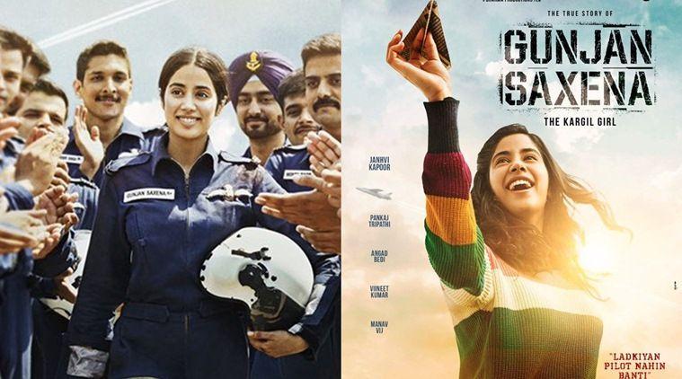 Gunjan Saxena The Untold Story The Kargil Girl First Look Out Janhvi Kapoor Gets Her Wings Girl Movies New Hindi Movie Hindi Movies Online