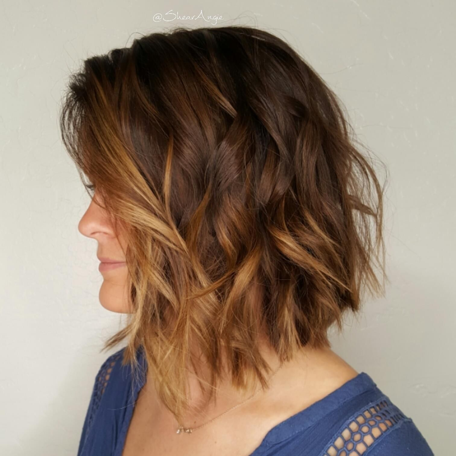 Balayage (With images) Long hair styles, Short hair