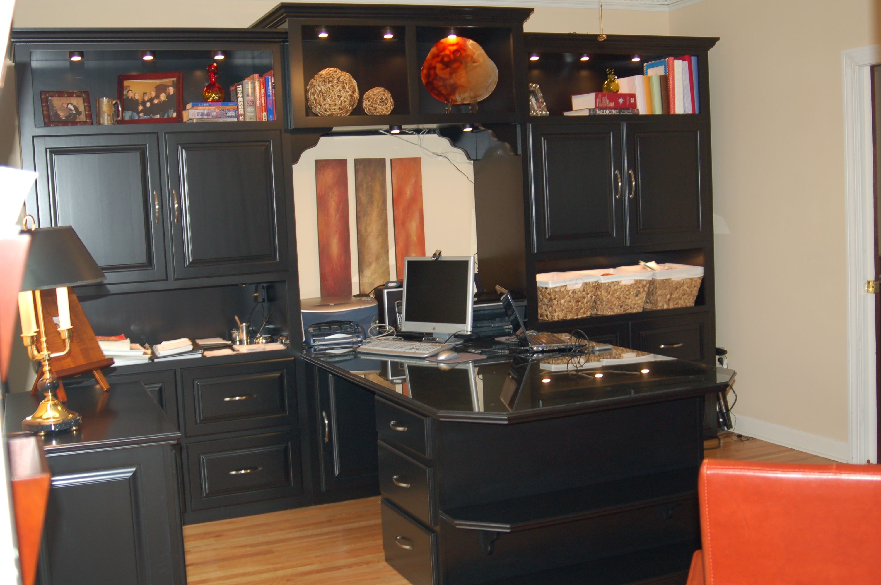 Home Office Two Sided Desk
