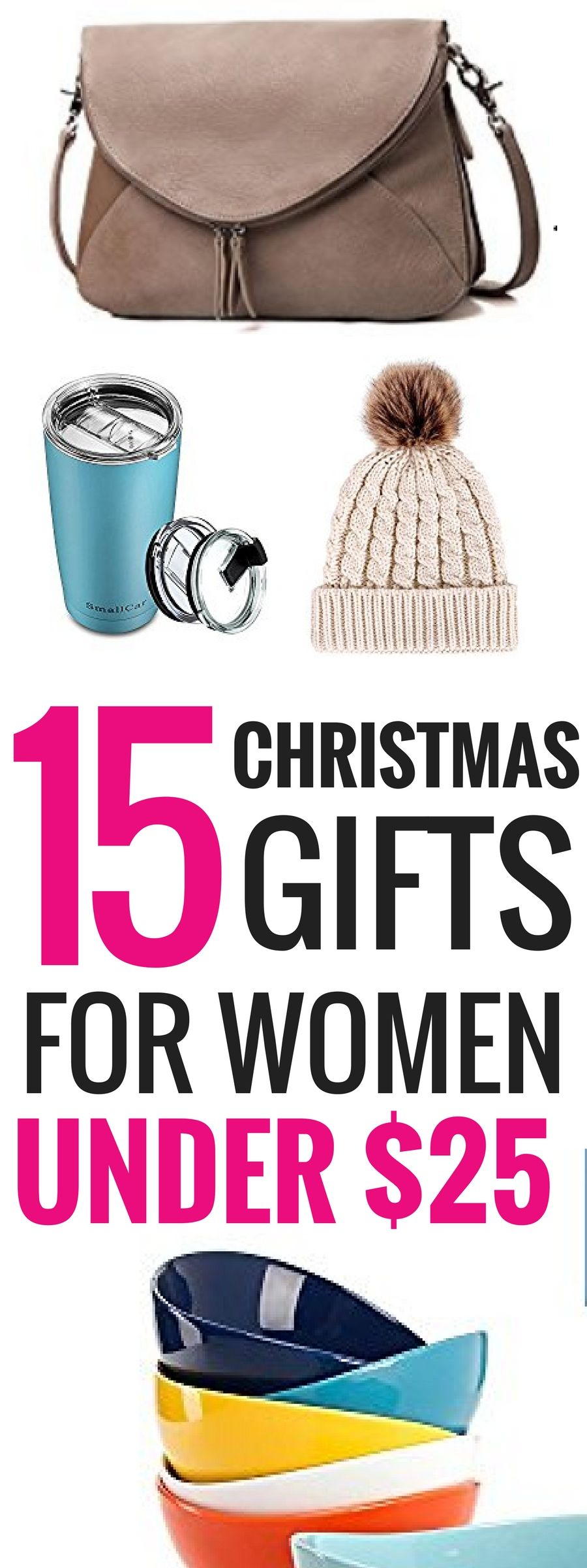 The Absolute Best Christmas Gifts For Women Under $25 | Mom gifts ...