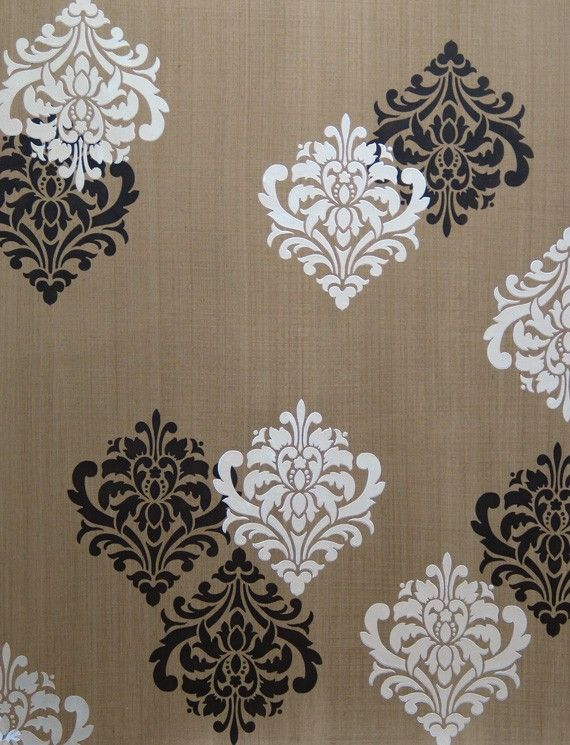 Wall Art Motif Stencil for Painting DIY Classic Damask