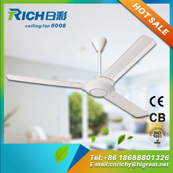 1600mm False Mini Bladeless Small Room Ceiling Fan With Shami Design