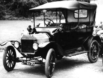 The Tin Lizzie 1915 Ford Model T Driven By Cal Thurman In Zane Grey S Novel Code Of The West 1934 With Images Model T Veteran Car Car Ford