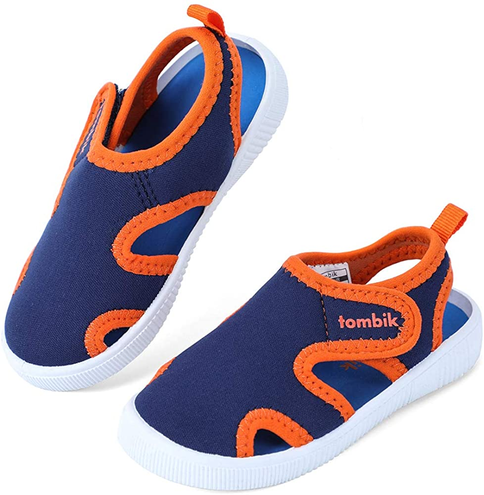 Crova Baby Boys Girls Water Shoes Barefoot Swim Shoes Toddler Beach Sandals Sneakers Kids