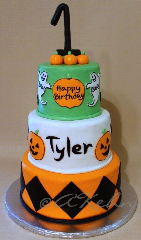 Halloween Birthday Cake I Want This For Masons 1st Birthday
