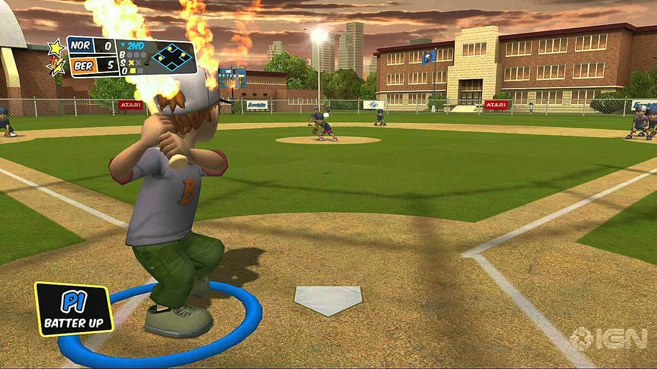 Backyard Sports Sandlot Sluggers WII NTSC Inglés [MEGA ...