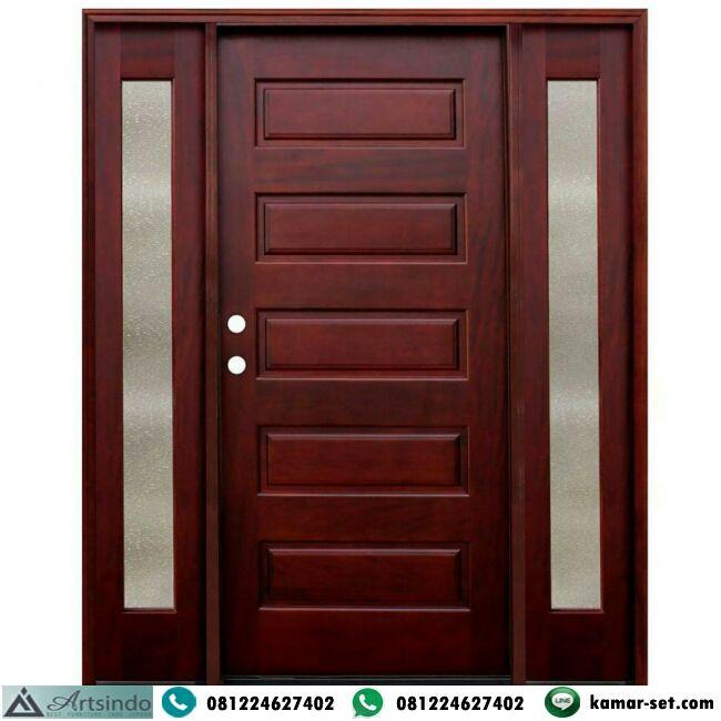 Pintu Jati Jendela Sambung Rumah Minimalis Kusen Pintu Jendela Minimalis Model Panil Pintu Utama Single Spesifikasi Pintu J Di 2020 Rumah Minimalis Pintu Depan Rumah