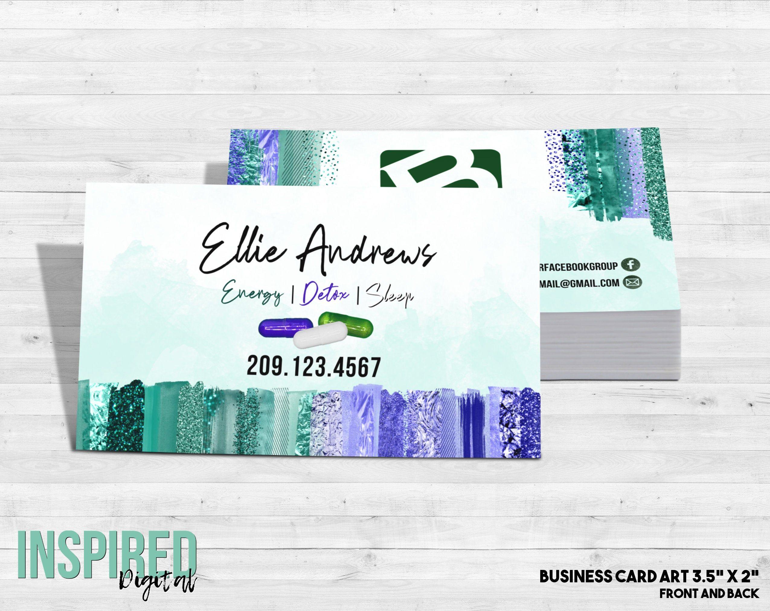B Epic Business Card Brushstrokes Feminine Business Card Etsy Art Business Cards Vistaprint Business Cards Beauty Business Cards