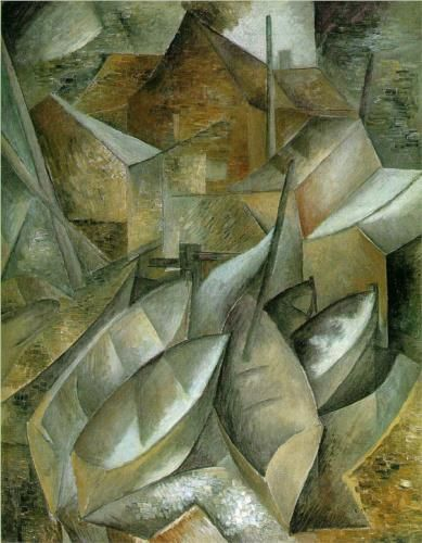 Georges Braque 1882 1963 Cubism Fishing Boats 1909