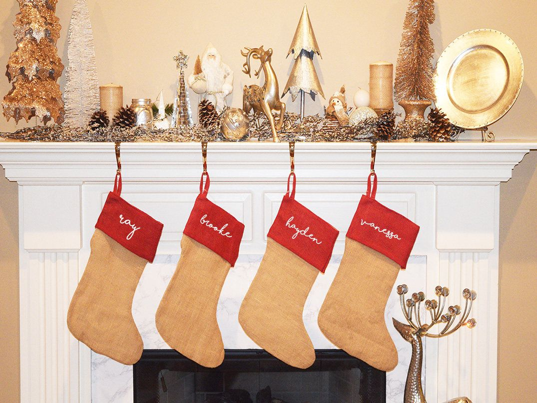 explore shop my embroidered christmas stockings and more - Embroidered Stockings Christmas