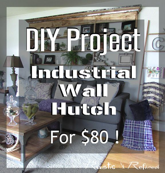 Exceptional DIY Project For The Home Thatu0027s Quick, Easy And Cheap. Diy Projects For HomeIndustrial  FurnitureFarmhouse ...