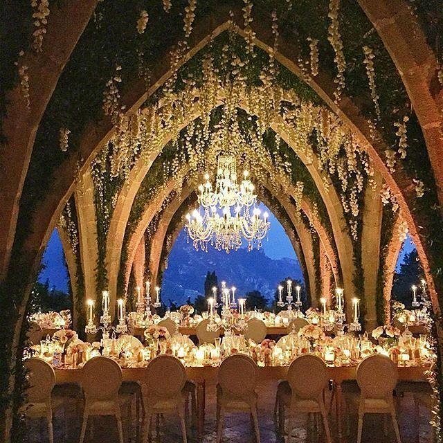 Beautiful Wedding Reception In Ravello Italy