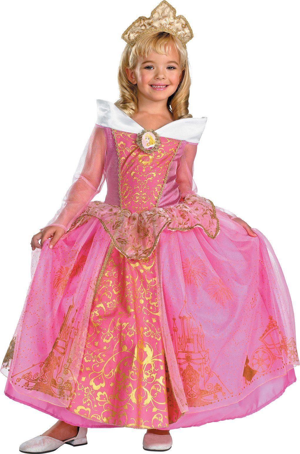 Disney Storybook Aurora Prestige Toddler / Child Costume | Princesas ...