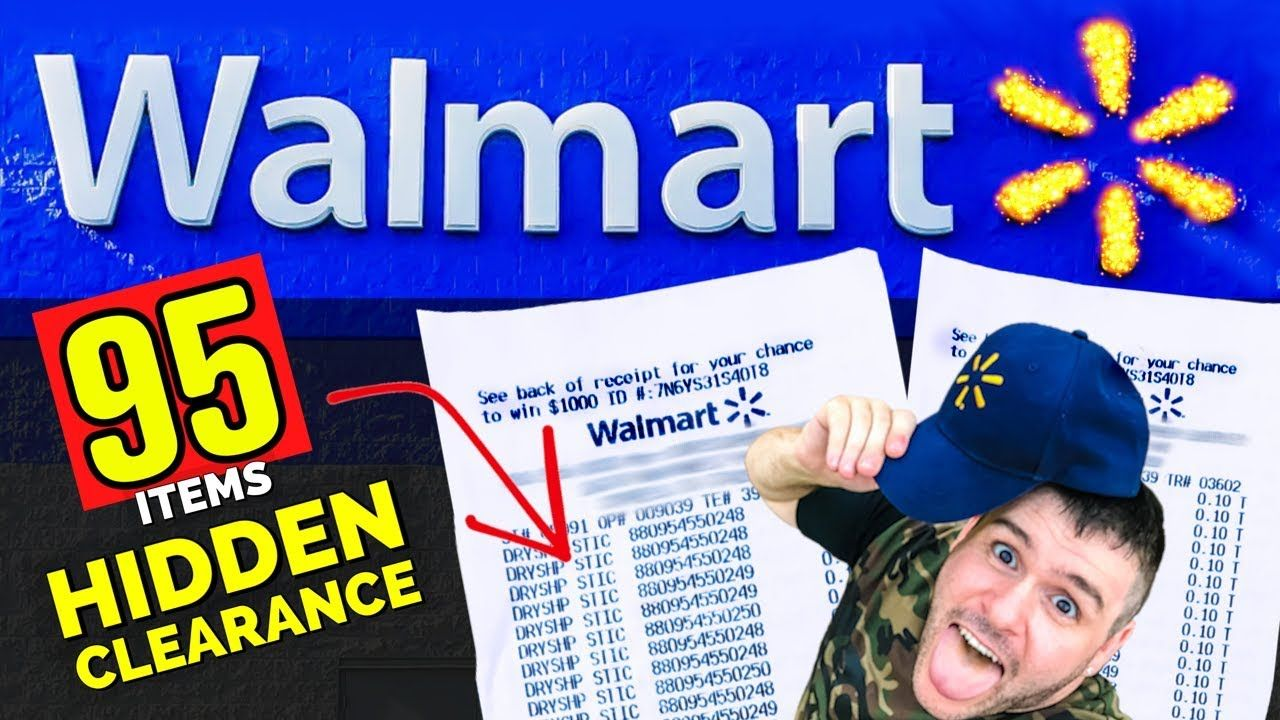 I Bought 95 HIDDEN Clearance items at Walmart! YouTube