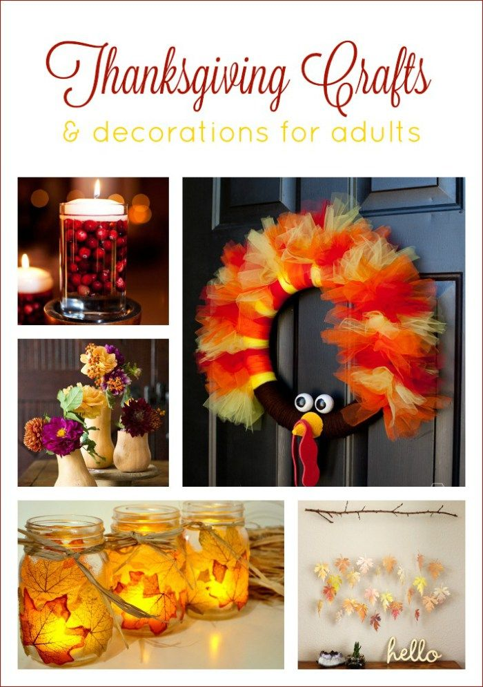 11 Thanksgiving and Fall Decorations and Crafts for Adults Fall - halloween party decorations adults