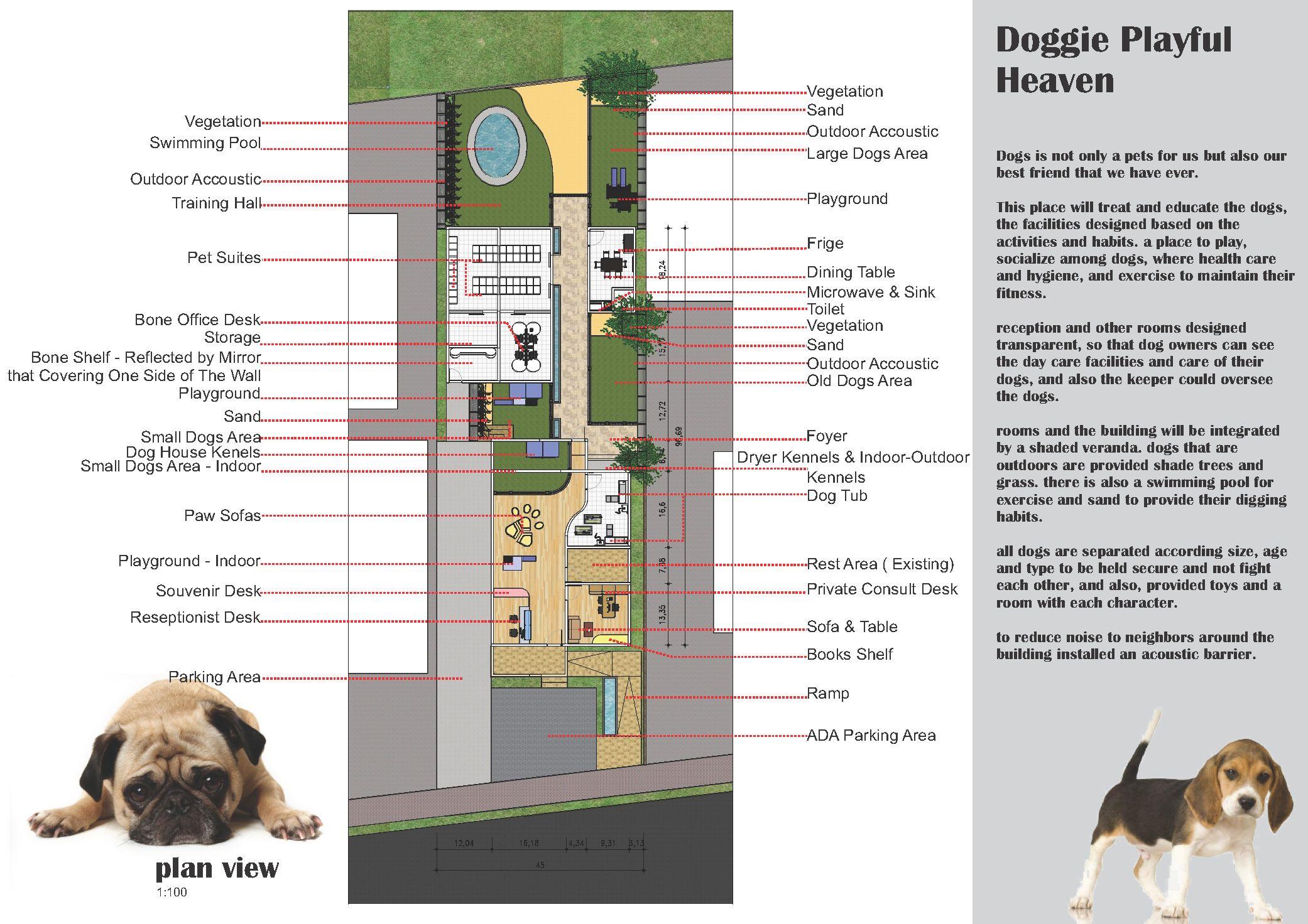 Best Dog Daycare Boarding Kennel Building Plan California