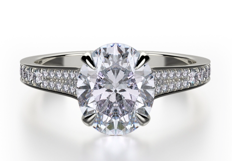 MICHAELM R7433 from the Crown Collection Platinum 0.38