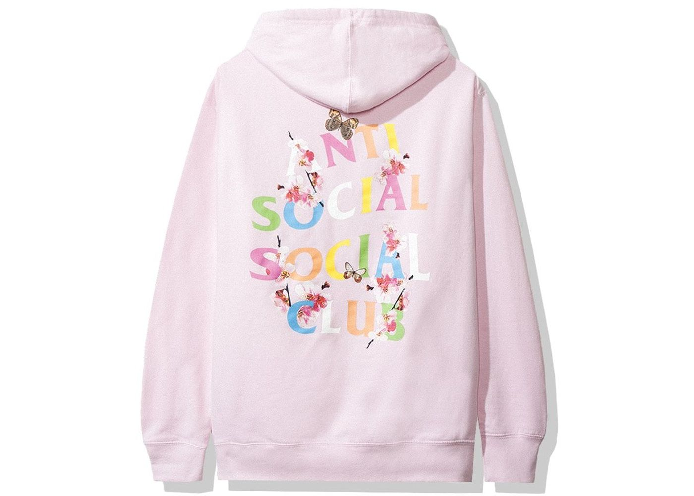 Anti Social Social Club Frantic Hoodie Fw19 Pink In 2021 Stylish Hoodies Hoodies Mom Shirts