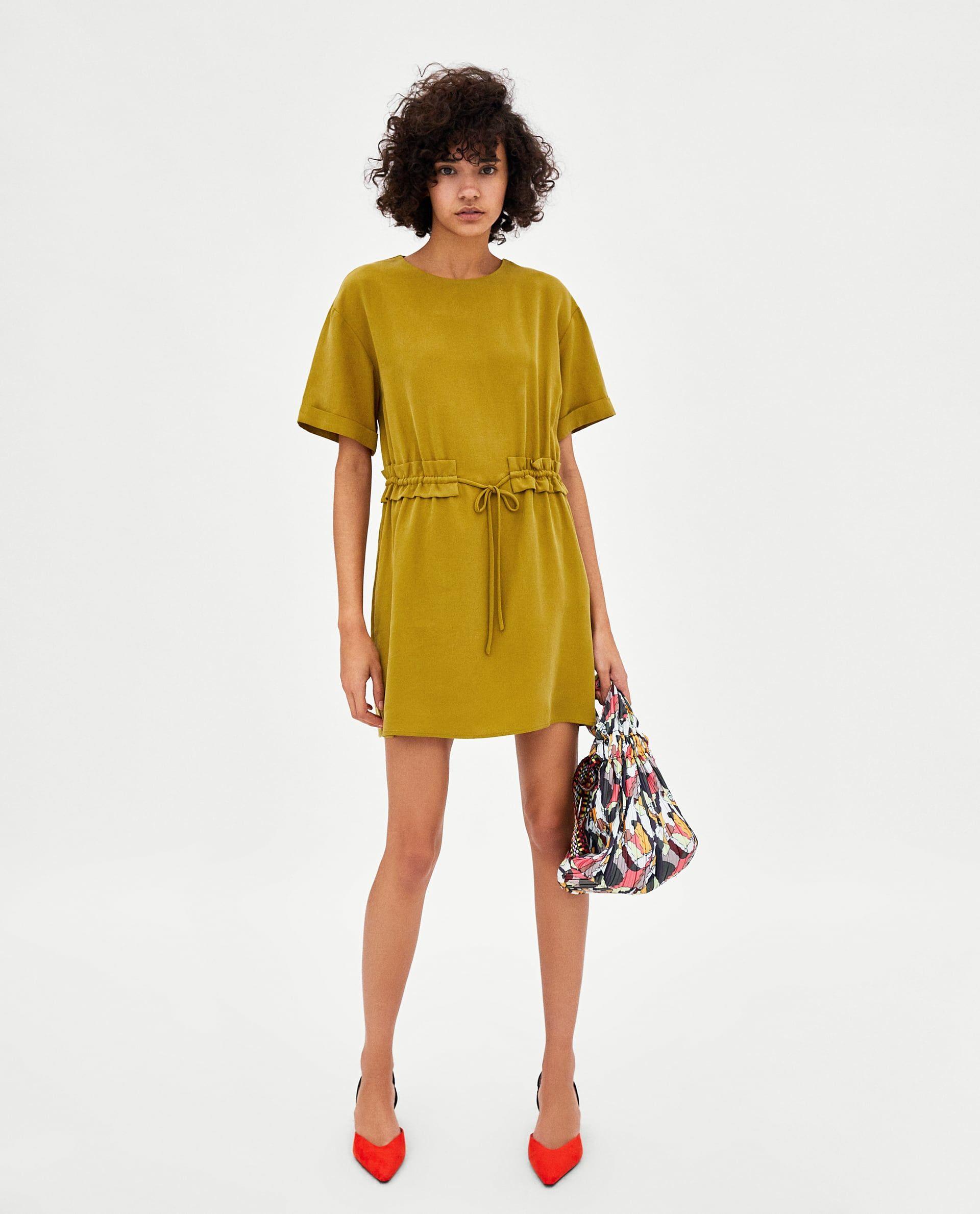 06401b45 VESTIDO FRUNCE | fall 2018 | Dresses, Fashion, Zara women