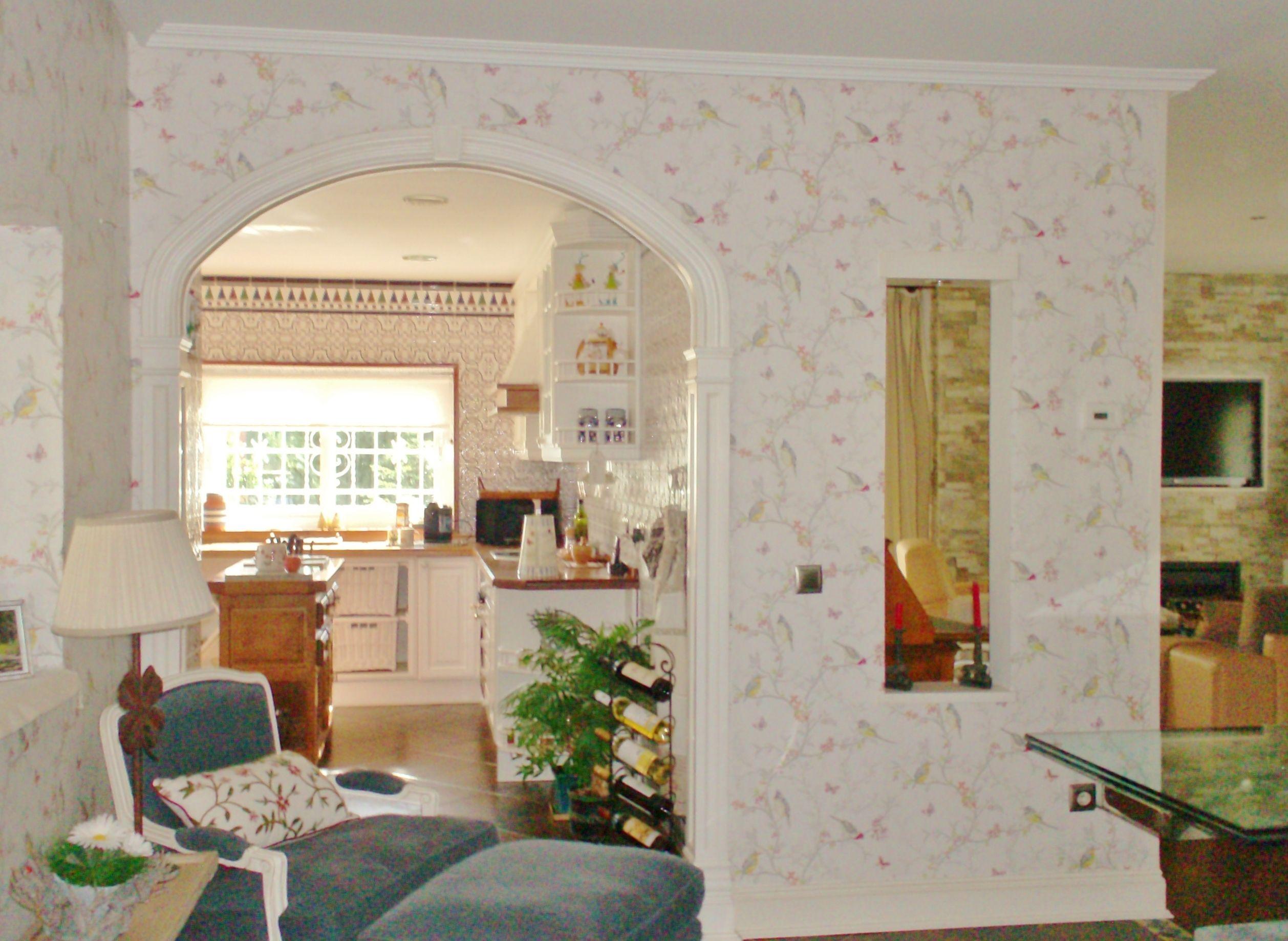 Papel decoracion paredes pared de gotel hay soluciones - Decorar paredes con papel pintado ...