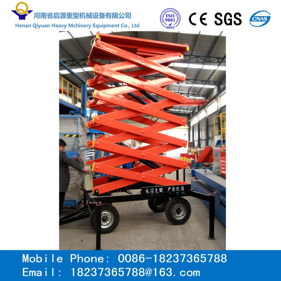Hot Sale Mobile Electric Hydraulic Scissor Lift Platform