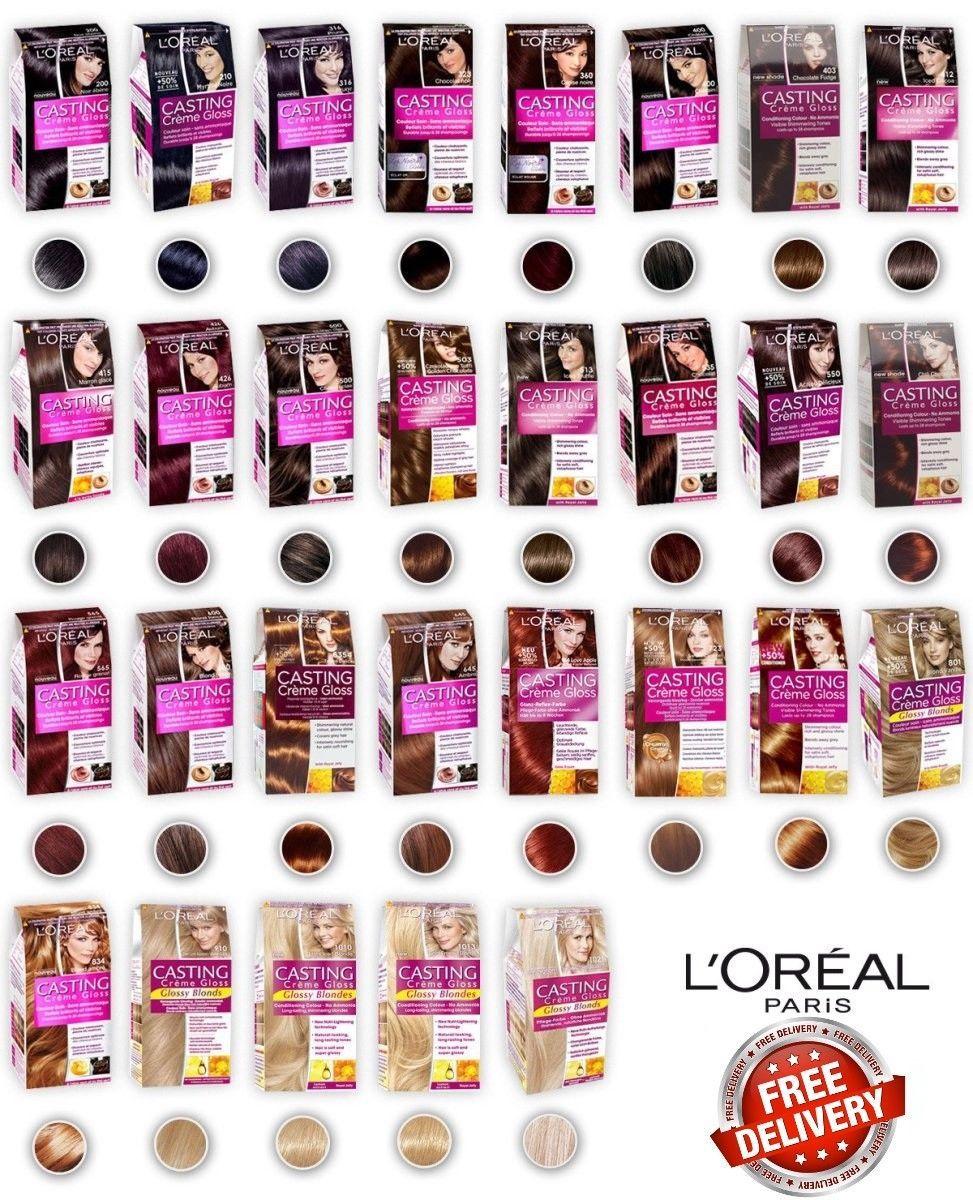 9 67 Gbp L Oreal Paris Casting Creme Gloss Hair Color Different Shades 4x More Glossy Ebay Fashi Tinta De Cabelo Cor De Cabelo Marrom Melhor Cor De Cabelo