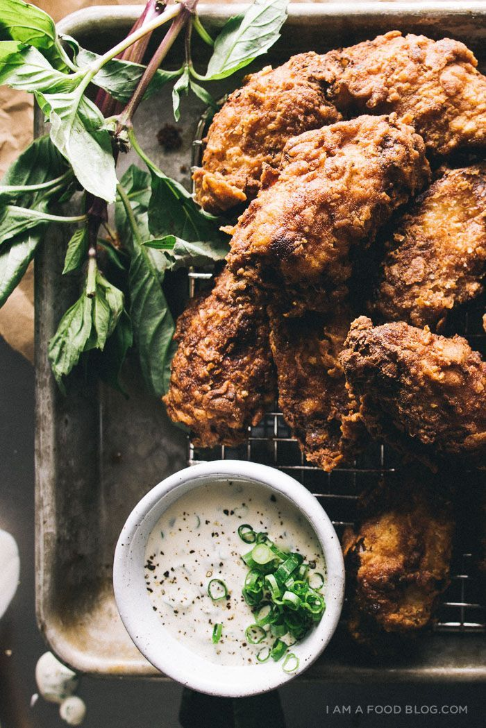How To Make Buttermilk Fried Chicken Wings I Am A Food Blog Recipe Fried Chicken Wings Poultry Recipes Food