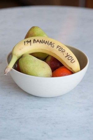 DIY Banana Valentines - The Sweetest Occasion
