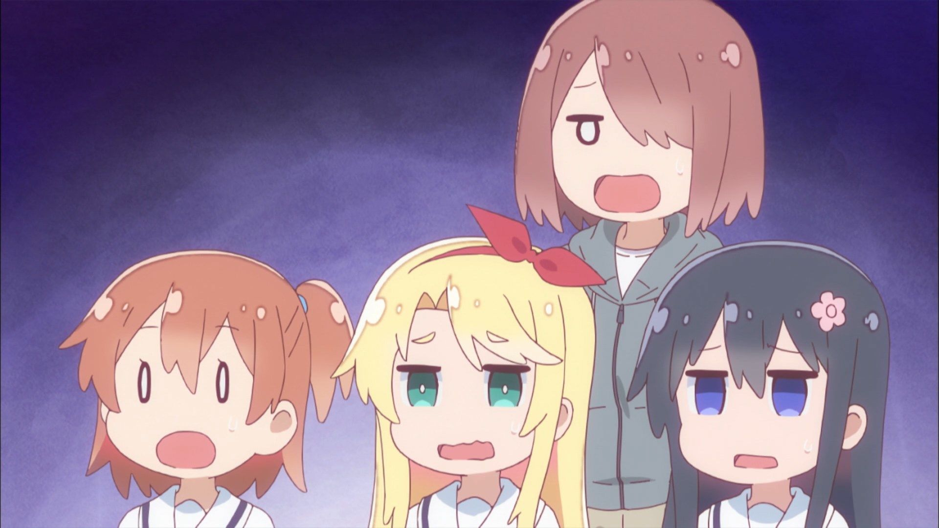 Pin By Kyo On Wataten An Angel Land On Me Anime Anime Expressions Anime Funny