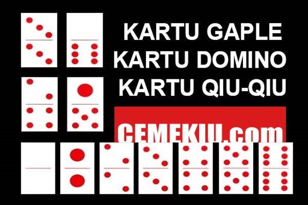Tips Menang Main Gaple Domino Dalam aturan umum permainan ...
