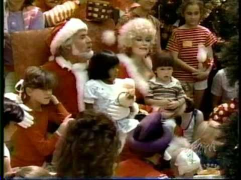 Kenny And Dolly Christmas.Kenny Dolly I Believe In Santa Claus Christmas Videos
